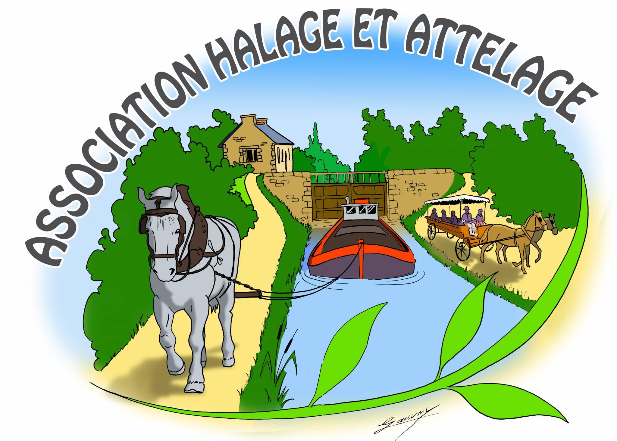Halage et Attelage